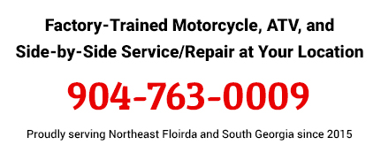 Factory-Trained Motorcycle, ATV, and Side-by-Side Service/Repair at Your Location