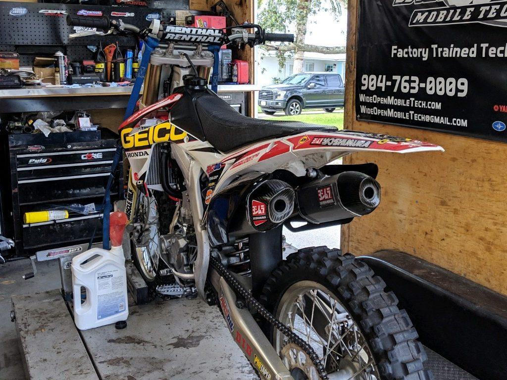 dirt bike repairs